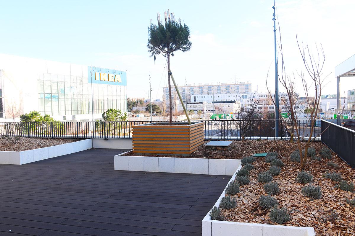 aménagement terrasse entreprise Lyon