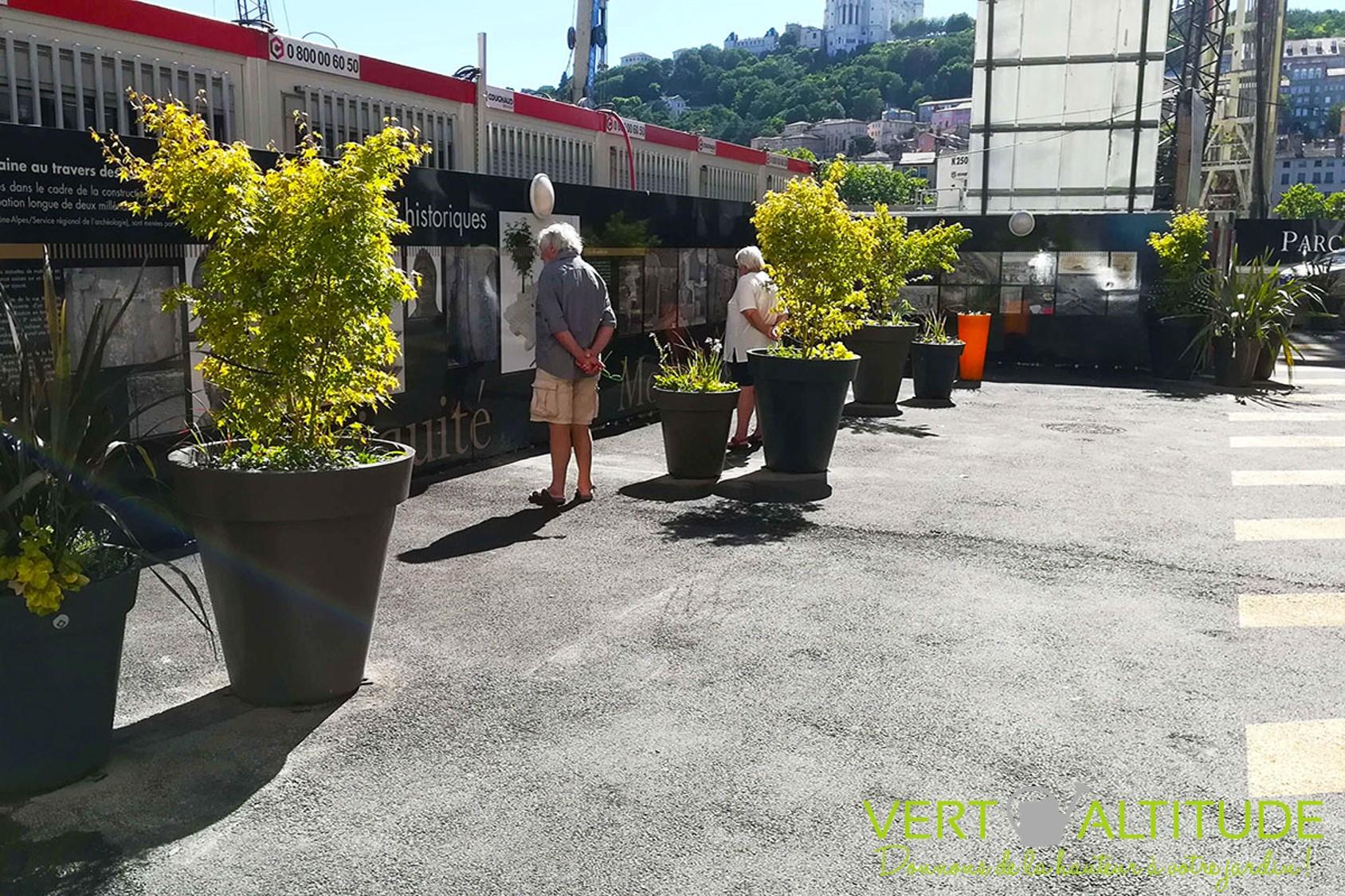 aménagement du parking LPA à Lyon