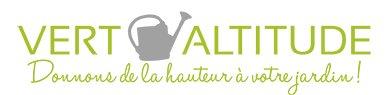 Vert Altitude Paysagiste Logo