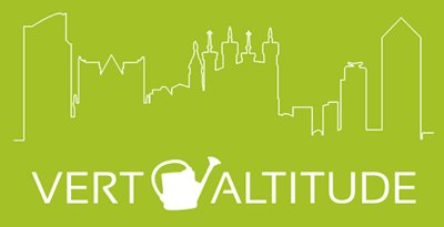 logo Vert Altitude blanc sur vert