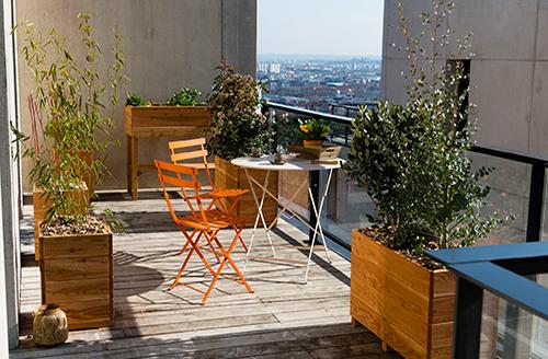 terrasses et balcons Vert Altitude Paysagiste